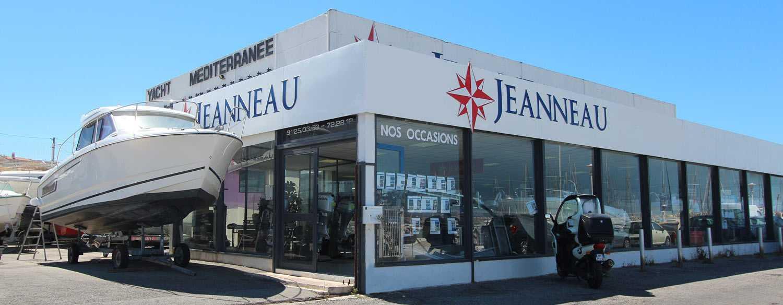 Yacht Méditerranée Marseille concessionnaire Jeanneau vente bateaux neuf occasion