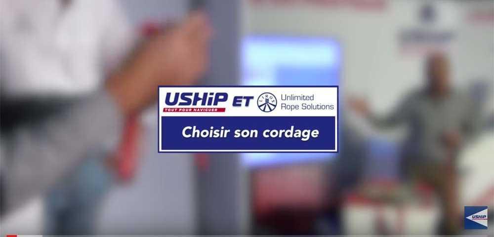 Comment réaliser réussir une épissure sur un cordage vidéo USHIP Académie