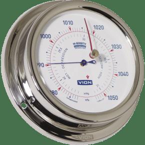 Baromètre Vion inox High-Sensitiv Ø 125 mm