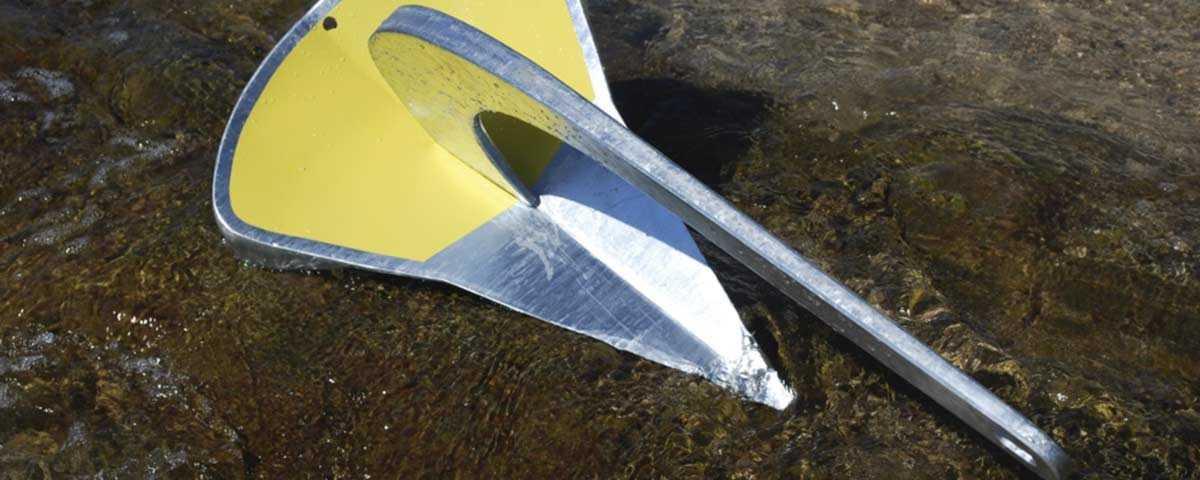 Ancre Spade en acier chez USHIP Marseille Pointe Rouge