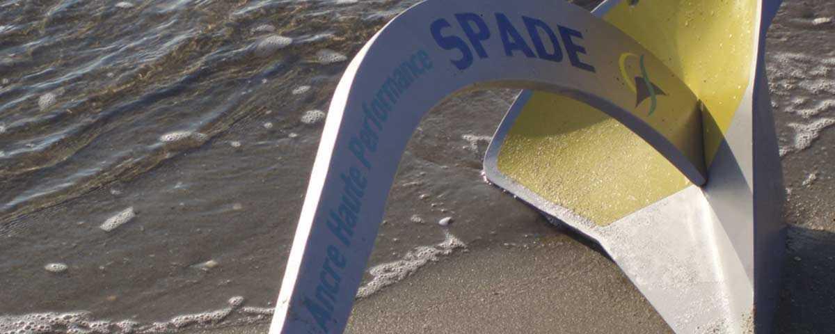 Ancre Spade en alu chez USHIP Marseille Pointe Rouge