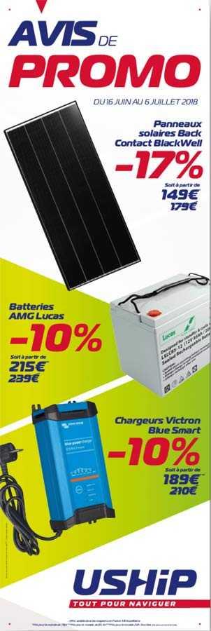 Promo sur l'énergie chez USHIP Marseille Sud