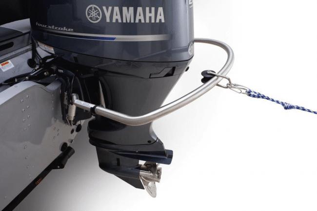 Le TurboSwing arceau de protection moteur stabilisateur d'assiette en courbe