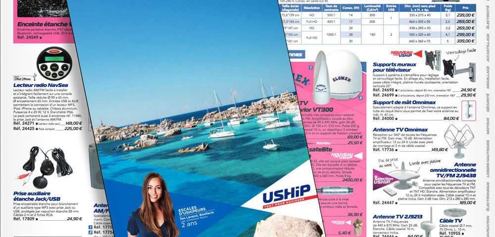 Consultez le catalogue USHIP En ligne sur notre site